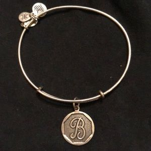 Alex & Ani Initial Bangle